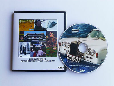 OASIS BE HERE NOW TOUR at THE BUDOKAN, TOKYO, JAPAN 1998   LIVE DVD