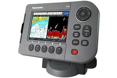 "Raymarine A57D 5.7"" Chartplotter and Fishfinder Combo with triducer included"