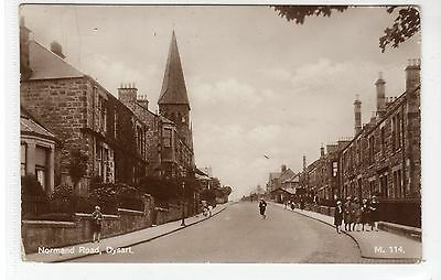 NORMAND ROAD, DYSART: Fife postcard (C21917)