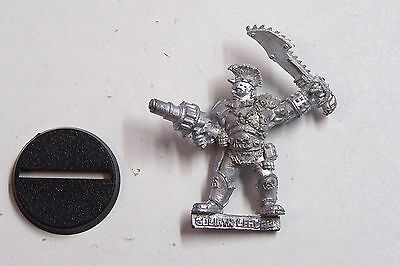 Warhammer Necromunda- 1x Goliath Leader with Grenade Launcher. metal. OOP