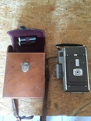 Polaroid Land Camera Model 80 mit Tasche