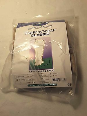 FarrowWrap Classic Legpiece Compression Wrap Lower Leg Tan SMALL TALL  - NEW!