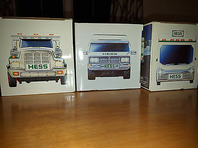 3 Hess Trucks 1998 2004 2008 Great Condition