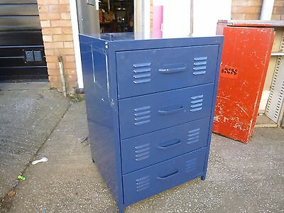 4 Drawer Large Metal Chest of drawers Industrial/Commercial