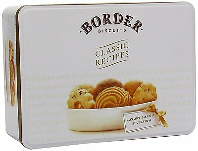 Border Biscuits Biscuit Selection Tin 500 g