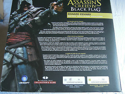 Edward Kenway Assassin's Creed Resin Statue (Unpainted Artist's Proof) McFarlane