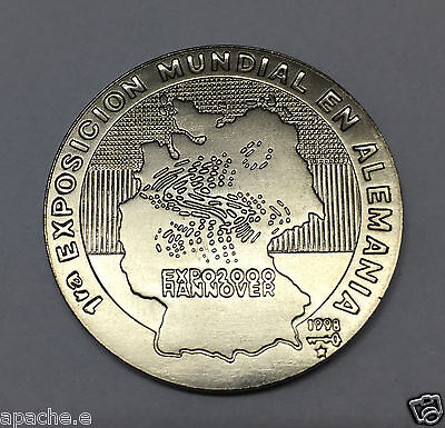 Expo 2000 Hannover  Münze Medaille