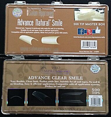 Advance no well tips (500) Natural & Clear