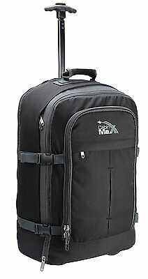 """""""25% OFF"""" Cabin Max Lyon Hand Luggage Backpacks Bags Trolley Wheeled Baggage"""