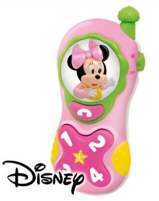 NEW Disney Baby Minnie Mouse Mobile Phone Toy - Sounds - Lights - Best Gifts