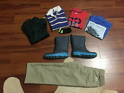 Lot of Boy's Clothes GapKids Oshkosh Crewcuts and more Sizes 6 - 8