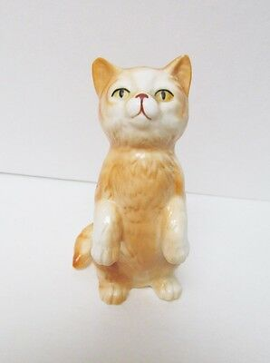 "Danbury Mint Cats of Character ""Hey Up There"" Fine Bone China Figurine"