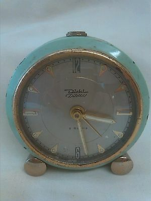 Antique Alarm Clock 'diletta' 'diehl'?