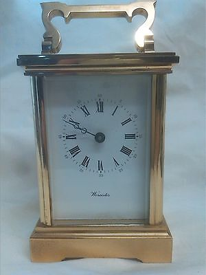 Antique Carriage Clock Solid Brass