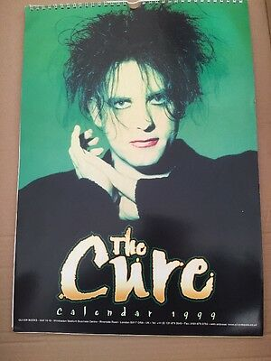 The Cure Robert Smith 1999 Official Calendar - Oliver Books -