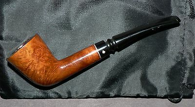 Kaywoodie' Stama 35' Vintage Tobacco Pipe & Pouch. Used. Good Solid Condition.
