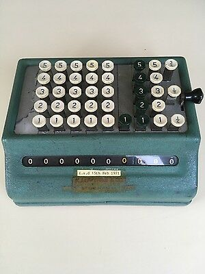 Vintage Counting Machine