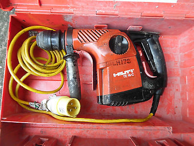 Hilti Te16C Hammer Drill 110v Plus  Case