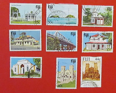 Fiji Postage Stamps 9  Used Unmounted