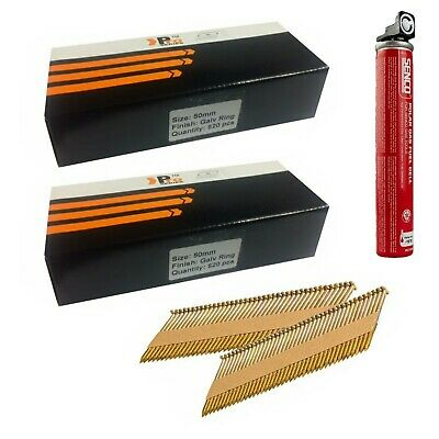 1000 x 50mm Framing Nails for DEWALT Cordless Framing Nailer,Clipped D-Head