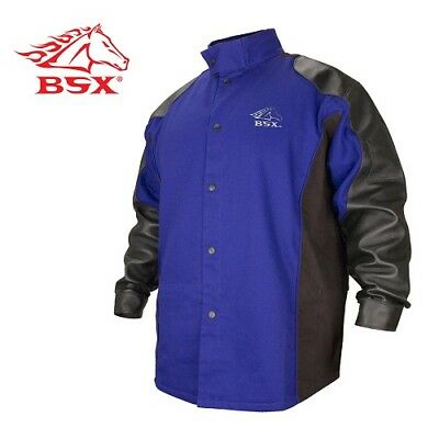 Revco BXRB9C/PS-XL BSX Hybrid Flame-Resistant and Grain Pigskin Welding Coat - R