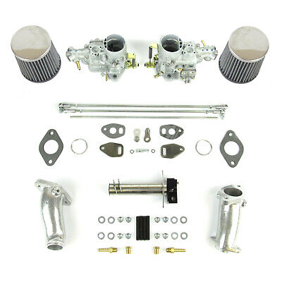 Genuine Weber 34ICT single port kit with German CSP link jetted VW T1 1300-1600
