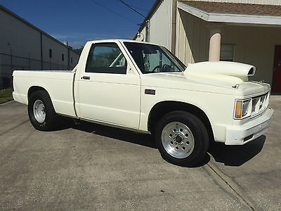 1985 GMC S-15 (Chevy S-10) Drag/Race Truck-355 SBC, Caltracs, 8 Pt cage, Title!