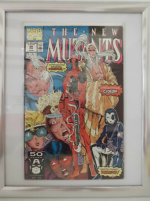 THE NEW MUTANTS # 98 ( 1st  App. of DEADPOOL )
