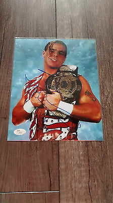 HBK Shawn Michaels autographed 8x10 photo WWF WWE