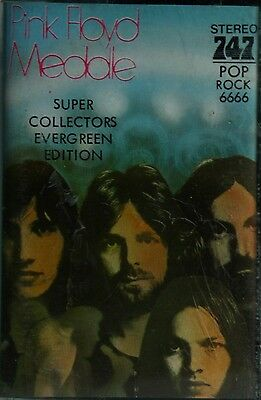 Pink Floyd  Meddle  SUPER COLLECTOR EVERGREEN EDITION Kassette Cassette PHOTOS