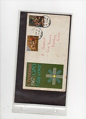 First Day Covers-Gb 27Th Nov 1967Mchristmas 1967