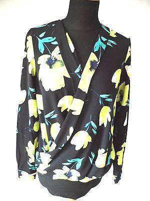 Ladies Top Summer Top Blouse Size 10 Floral