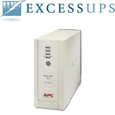 Apc Back Ups Rs 800Va/540W Br800 With New Batteries. 1 Year Replacement Warranty