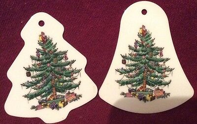 ��Spode Christmas Tree, Tree Shaped and Bell Shaped Decorations.��