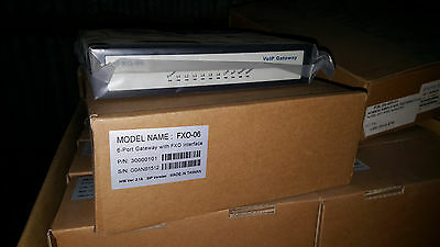 Teletronics Volp 6 port gateway with FXO interface 30000101 FXO-06