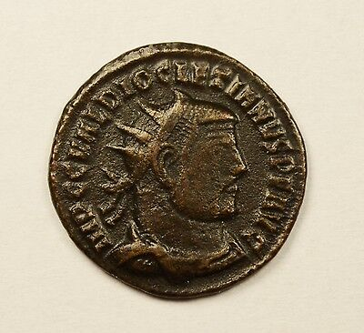 DIOCLETIAN 284-305 AD BRONZE ANTONINIANUS - Roman Imperial Coin
