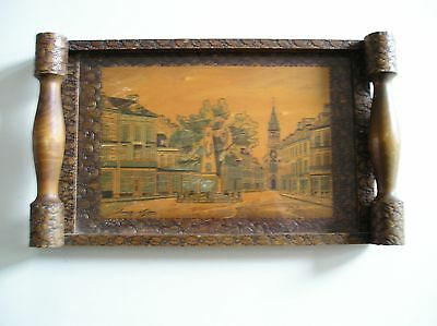 Antique / Vintage  french tray