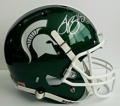 Le'Veon Bell Autographed Signed Full Size Helmet Michigan State Spartans JSA