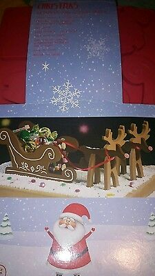 Christmas reindeer sleigh  moulds