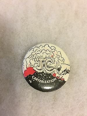 Jimmy Carter Opposition Pinback