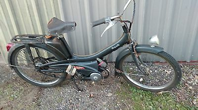 ancienne MOBYLETTE MOTOCONFORT 1960 ,vintage,scooter,moto,cyclo,peugeot