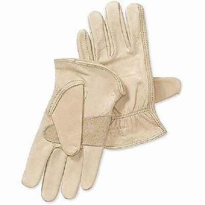 Wells Lamont Cowhide Leather Work Gloves 1130 ~ New ~ Free Shipping