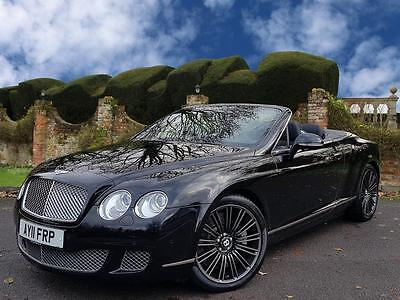 Bentley Continental GTC Speed 6.0 W12 2dr Auto Convertible,
