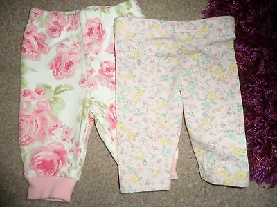 Baby Girl Leggings & Trousers - Newborn / First Size
