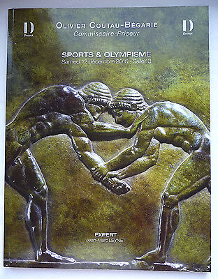 "Catalogue De Vente ""sport & Olympisme"" 12 Decembre 2015 / Collection"