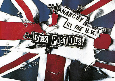 Poster 61x91.5cm  -  Sex Pistols Anarchy