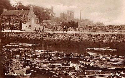 Scotland - DYSART, Harbour Scene, Real Photo, Fifeshire