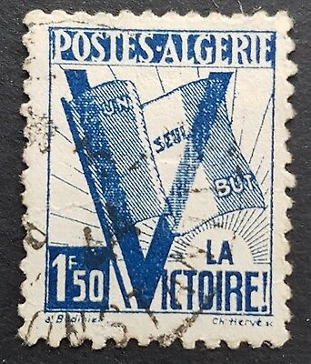 Allegory of Victory 1943 used Algeria stamp for sale see below