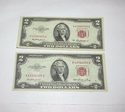 $2 Red Seal 1953 A  /  1953 ..............S510