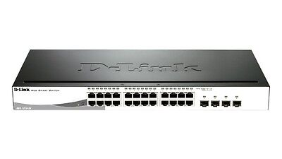 D-LINK 1210 Web Smart Switch 28